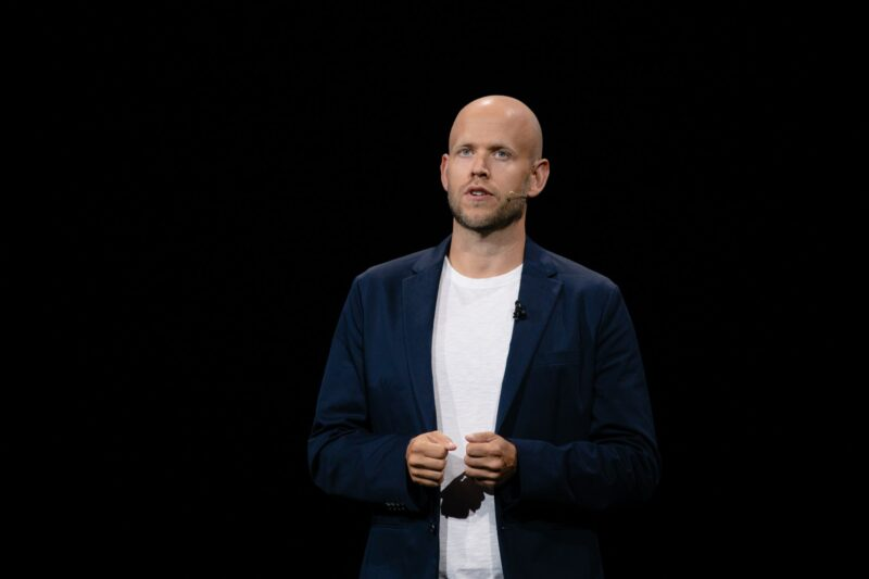 Daniel Ek, CEO și fondatorul Spotify