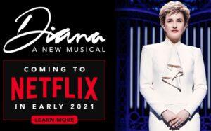 """Afișul de promovare a musicalului """"Diana"""""""