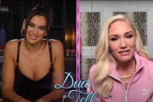 Dua Lipa intervievând-o pe Gwen Stefani