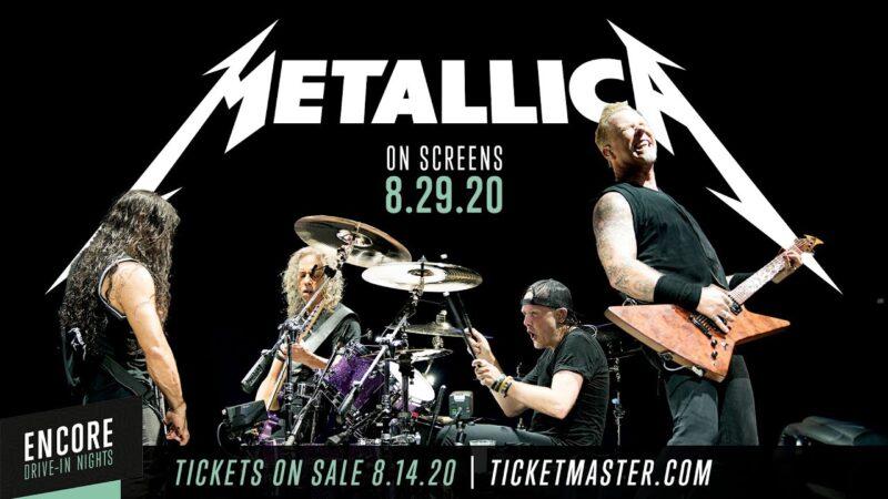 Metallica concert Drive In Nights august 2020