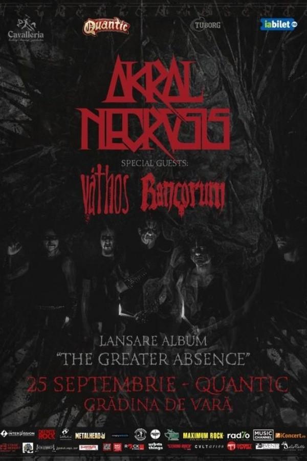 Akral Necrosis - lansare de album la Quantic Club