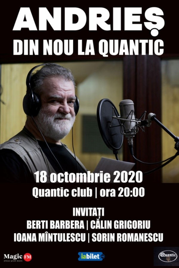 Andrieș la Quantic Club