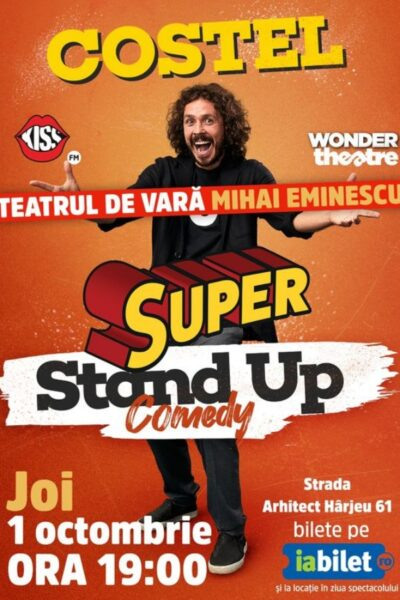 Poster eveniment Costel - Super Stand Up Comedy