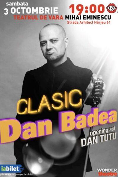 Poster eveniment Dan Badea
