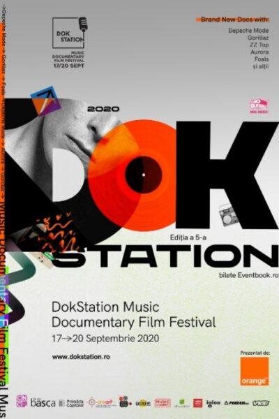 Poster eveniment DokStation Music Documentary Film Festival 2020