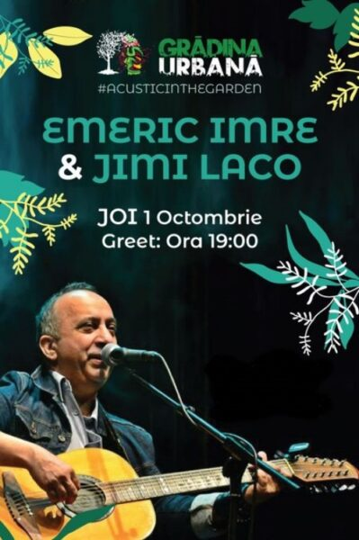 Poster eveniment Emeric Imre & Jimi El Laco
