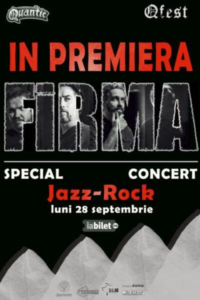 Poster eveniment FiRMA Special Jazz-Rock set