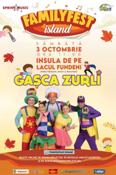 Poster eveniment Gașca Zurli