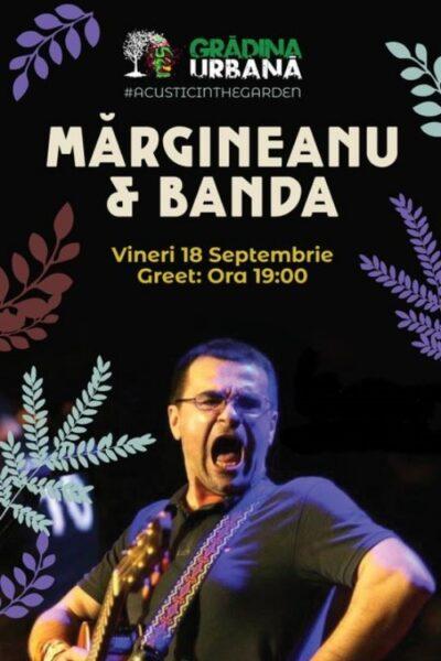 Poster eveniment Mihai Mărgineanu