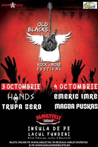 Poster eveniment Old Blacks Rock & More Festival 2020