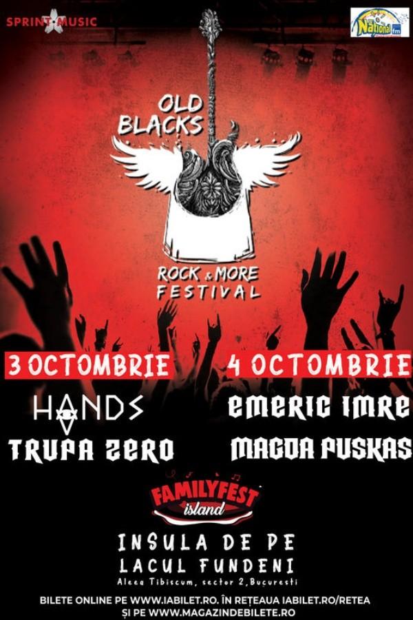 Old Blacks Rock & More Festival 2020 la FamilyFest Island (București)