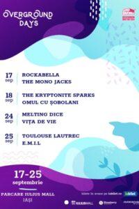 Overground Days - The Mono Jacks, Rockabella