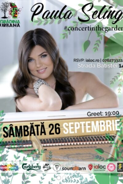 Poster eveniment Paula Seling