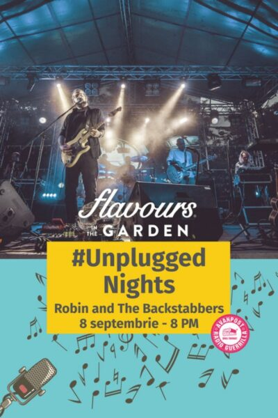 Poster eveniment Robin and the Backstabbers - Unplugged Nights
