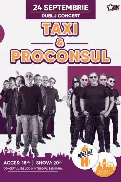 Poster eveniment Taxi & Proconsul