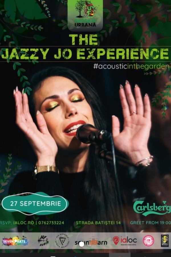 The Jazzy Jo Experience la Grădina Urbană