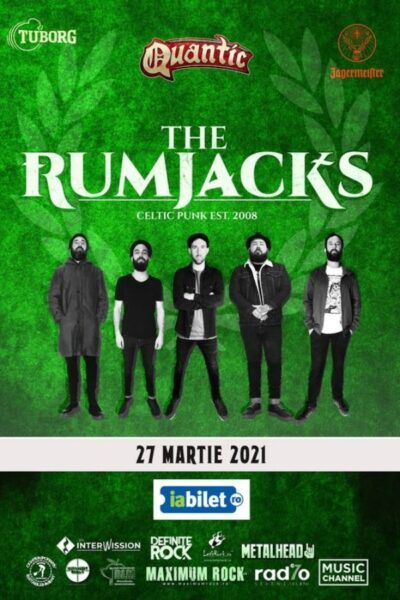 Poster eveniment The Rumjacks