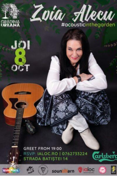 Poster eveniment Zoia Alecu