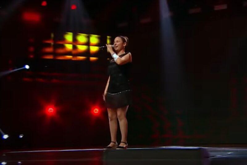 Andrada Precup la X Factor 2020 - captură ecran