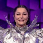 Brigitte Pastramă la Masked Singer România 2020 - captură ecran