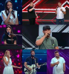 Concurenții care au trecut de primul episod X Factor 2020 - captură ecran