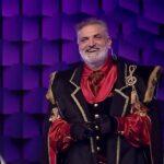 Damian Drăghici la Masked Singer România 2020 - captură ecran