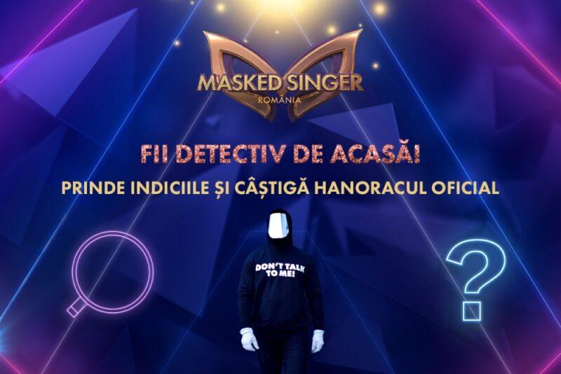 Hanoracul oferit prin concurs de Masked Singer Romania