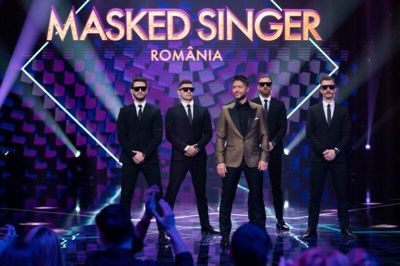 Jorge la Masked Singer Romania (imagine din platou)