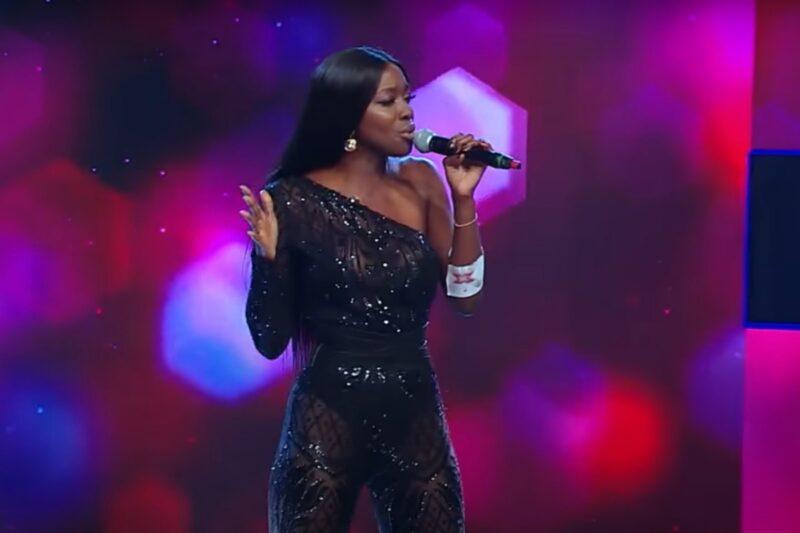 Naomi Hedman la X Factor România 2020 - captură ecran