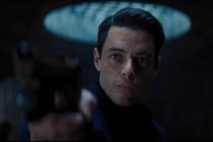 """Rami Malek în trailerul filmului """"No Time To Die"""" - captură ecran"""
