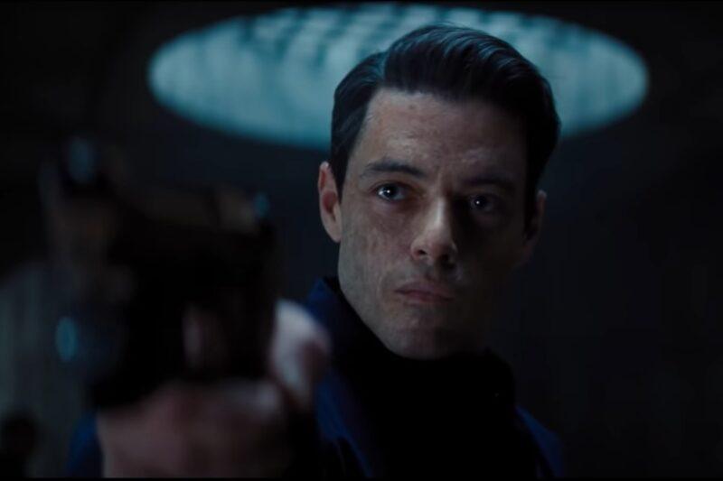 Rami Malek în trailerul filmului