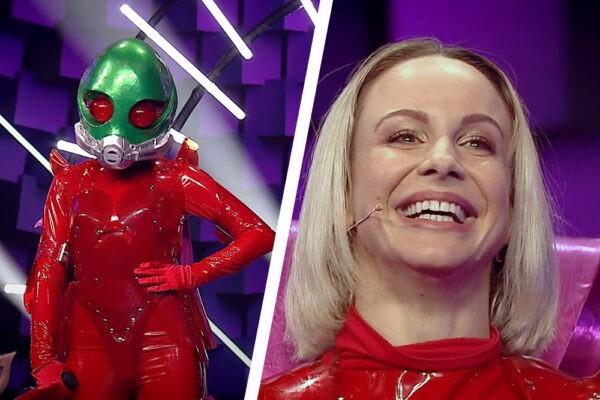 Sandra Izbașa la Masked Singer România 2020
