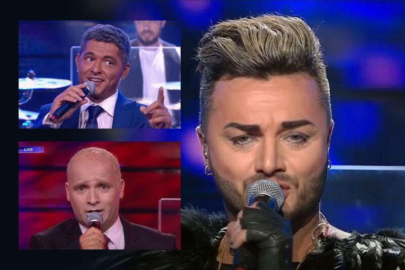 Tavi Clonda în rolul lui Adam Lambert la