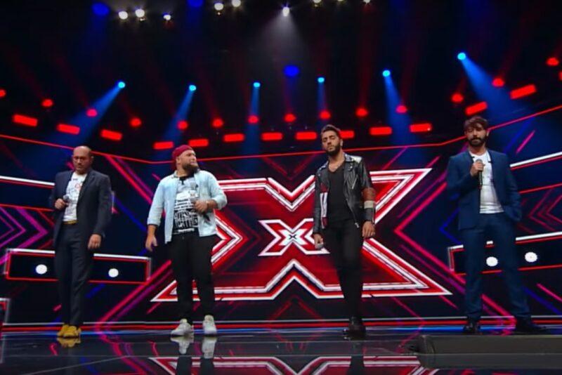 Trupa Super 4 la X Factor 2020 - captură ecran