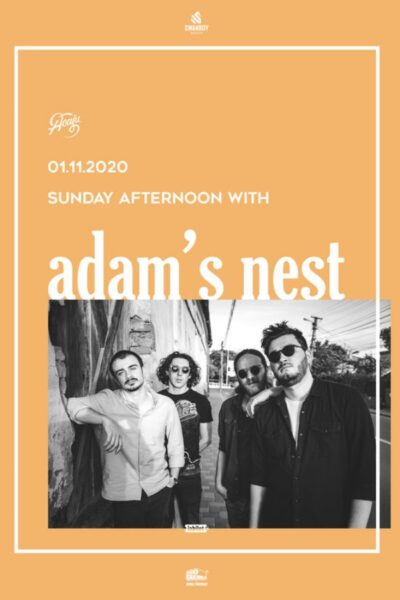Poster eveniment Sunday Afternoon with Adam\'s Nest