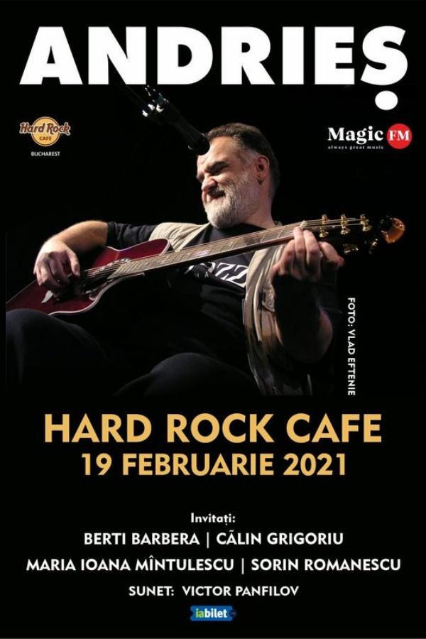 Alexandru Andrieș la Hard Rock Cafe
