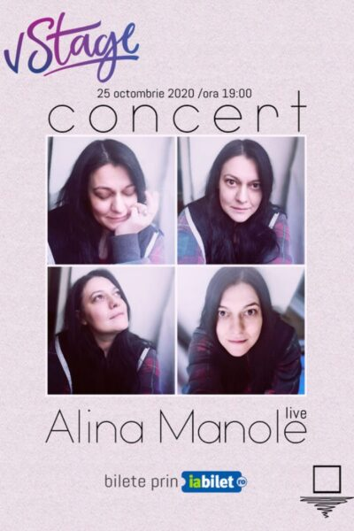 Poster eveniment Alina Manole online