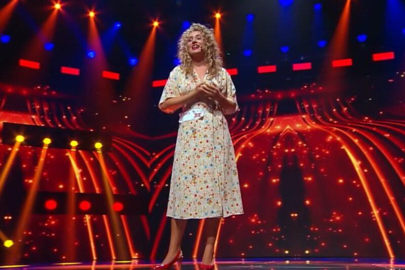 Ana Paula Rada Pantea la X Factor 2020 - captură ecran