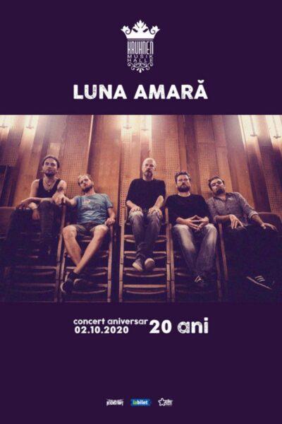 Poster eveniment Luna Amară aniversar