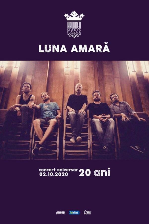 Luna Amară aniversar la Kruhnen Musik Halle