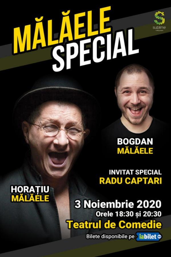 Mălăele Special la Teatrul de Comedie București