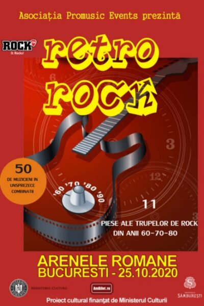 Poster eveniment Retro Rock