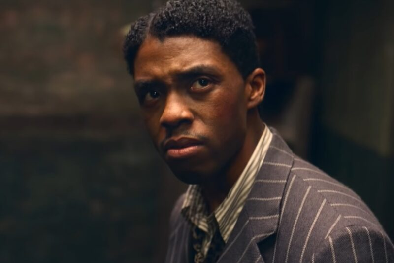 "Chadwick Boseman în ""Ma Rainey's Black Bottom"""