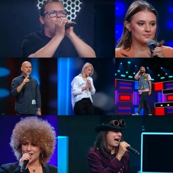 Concurenții care au trecut de cel de-al cincilea episod X Factor 2020 - captură ecran
