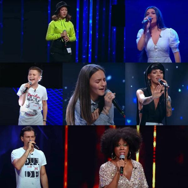 Concurenții care au trecut de cel de-al optulea episod X Factor 2020 - captură ecran