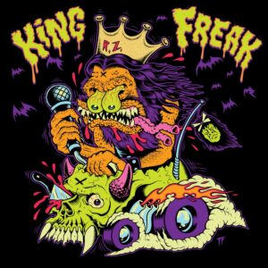 Coperta single Rob Zombie Triumph of King Freak
