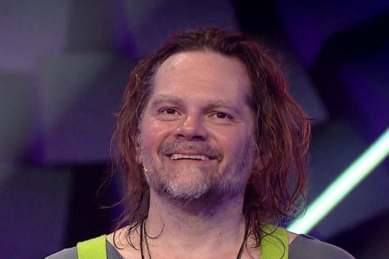 Florin Piersic Jr. la Masked Singer România 2020 - captură ecran