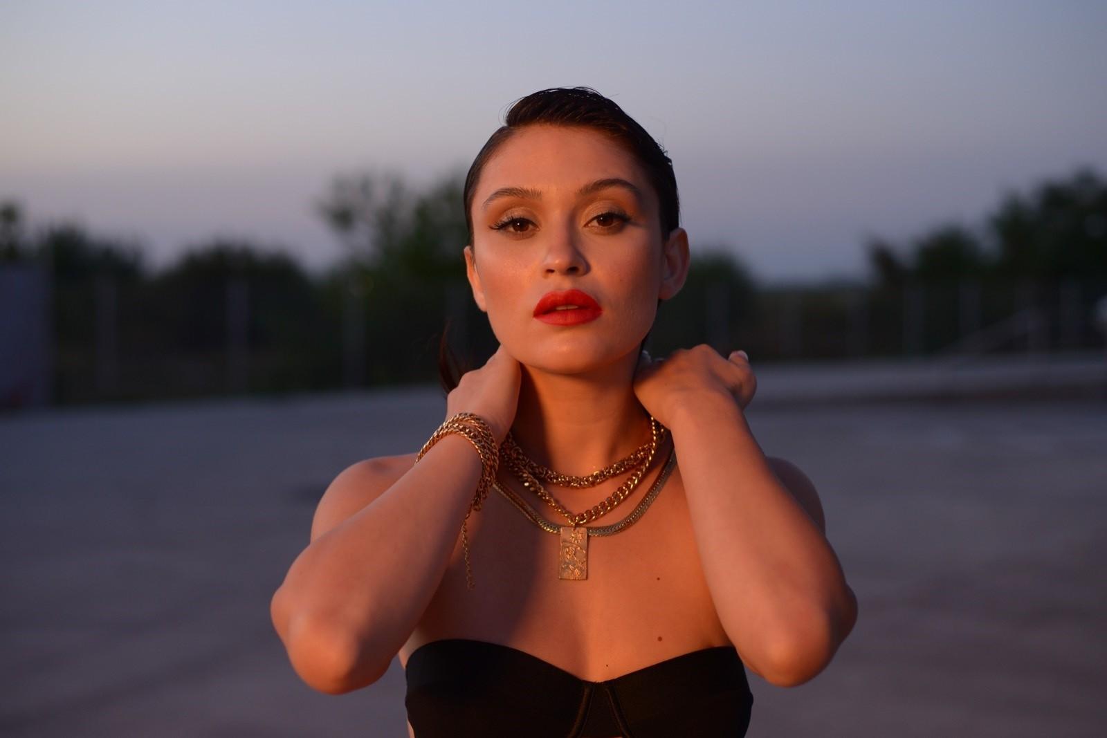 """Irina Rimes la filmările clipului """"Your Love"""""""