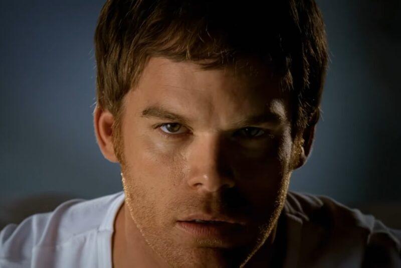 """Michael C. Hall în intro-ul serialului """"Dexter"""""""