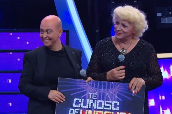 "Monica Anghel și Marcel Pavel la ""Te cunosc de undeva"""